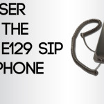 A Closer Look: The Avaya E129 SIP Desk Phone