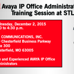 Free Avaya IP Office Training Session on 12/2