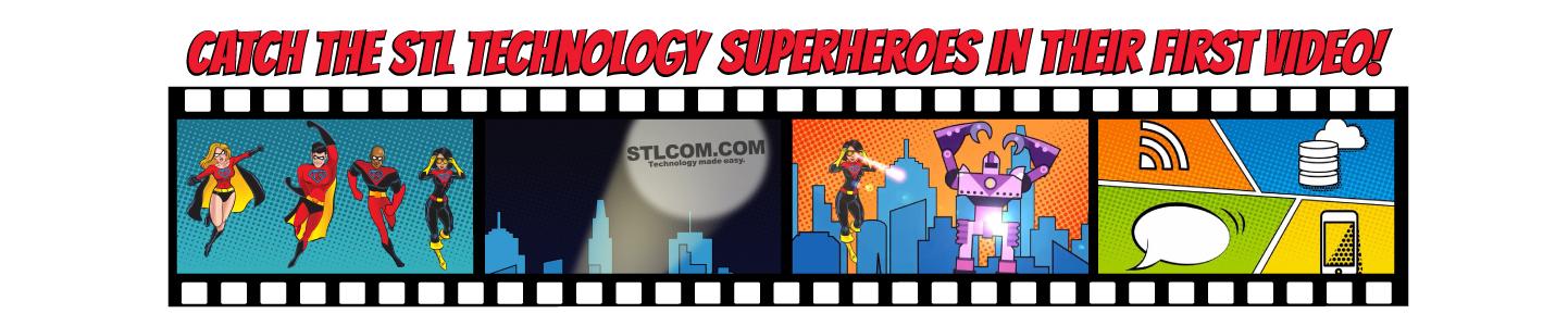 STL Technology Superhero Video