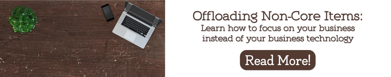 offloading non core items