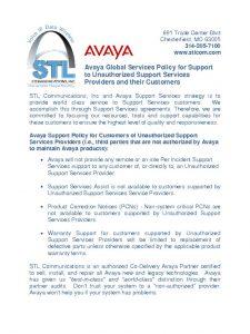 thumbnail of 25_AvayaDoesNotSupportUnauthorizedPartners