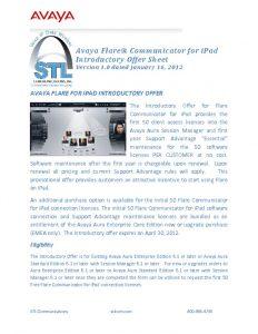 thumbnail of 34_AvayaFlareCommunicatorIntroOfferSheet