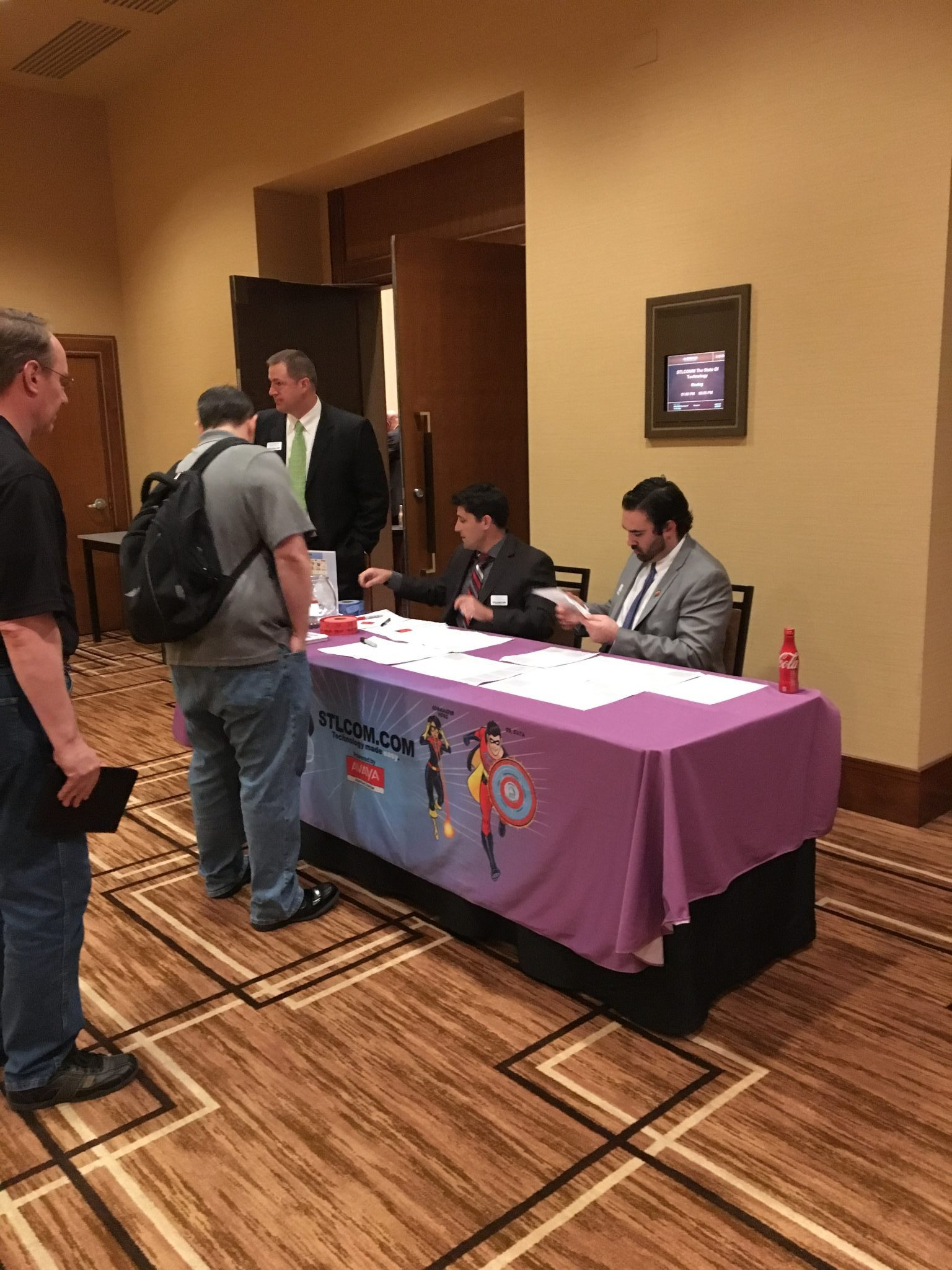 Registration at State of Technology