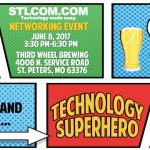 Join STL Communications for a networking event on 6/8 at Third Wheel Brewing!