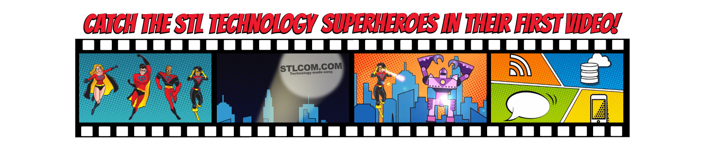STL Technology Superhero Video
