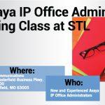 FREE Avaya IP Office Training Class at STL Communications – May 18th!