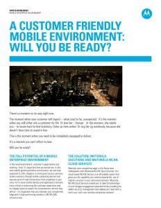 Motorola Tech Fair Notes - STL Communications, Inc