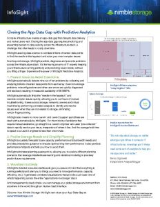thumbnail of InfoSight – Closing the App-Data Gap with Predictive Analytics